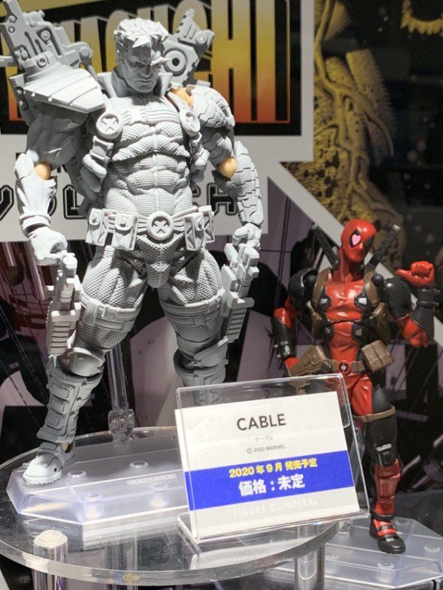 2020 Winter Wonderfest Revoltech Cable 6 Inch Figure Prototype