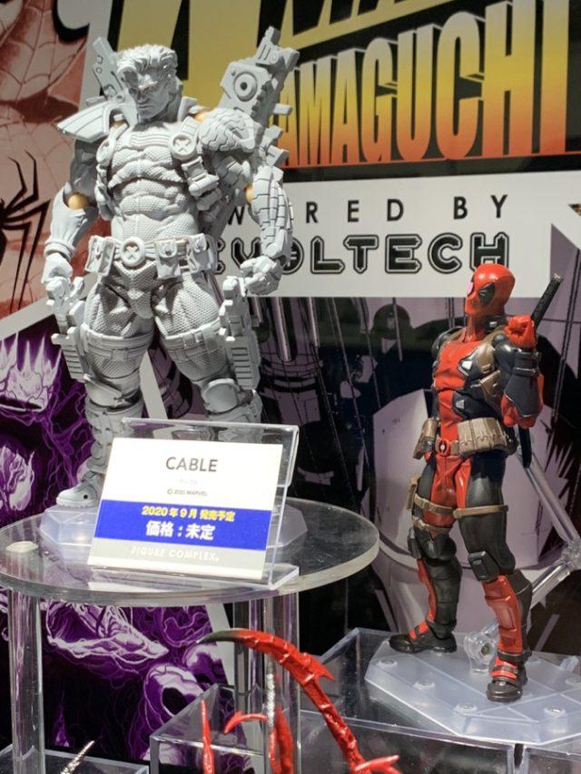 Revoltech Cable & Deadpool Kaiyodo Action Figures