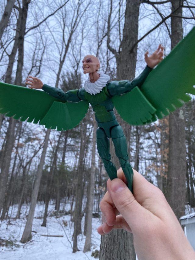 Marvel Legends Vulture Demogoblin Series Figure Flying