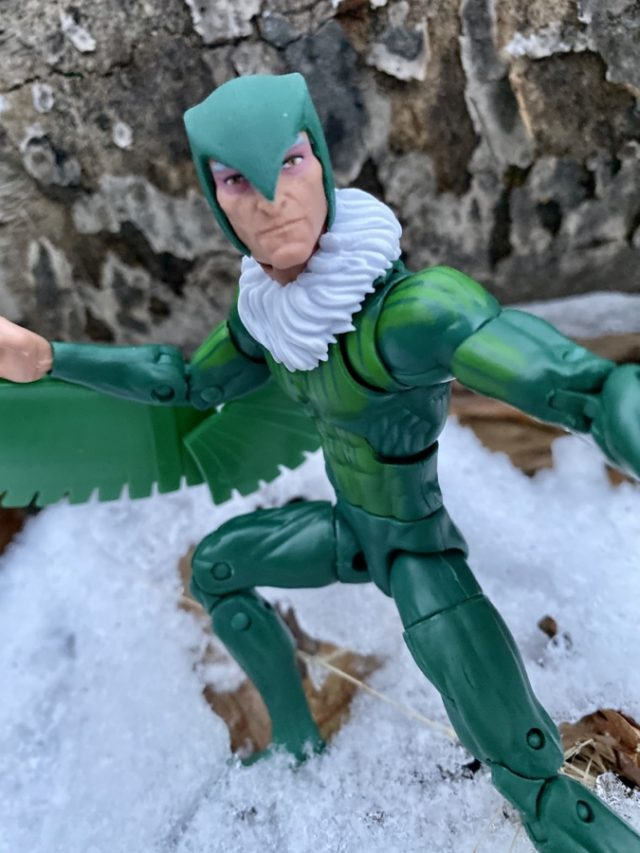 Helmeted Head on Vulture Spider-Man Marvel Legends 2020 Figure