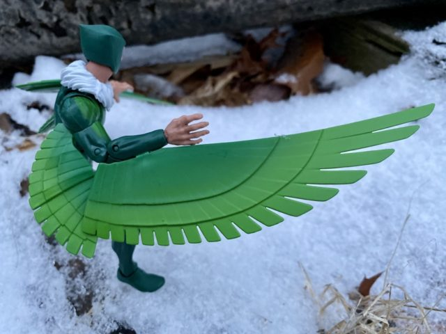 Gradient on Wings of Vulture Spider-Man Legends Figure
