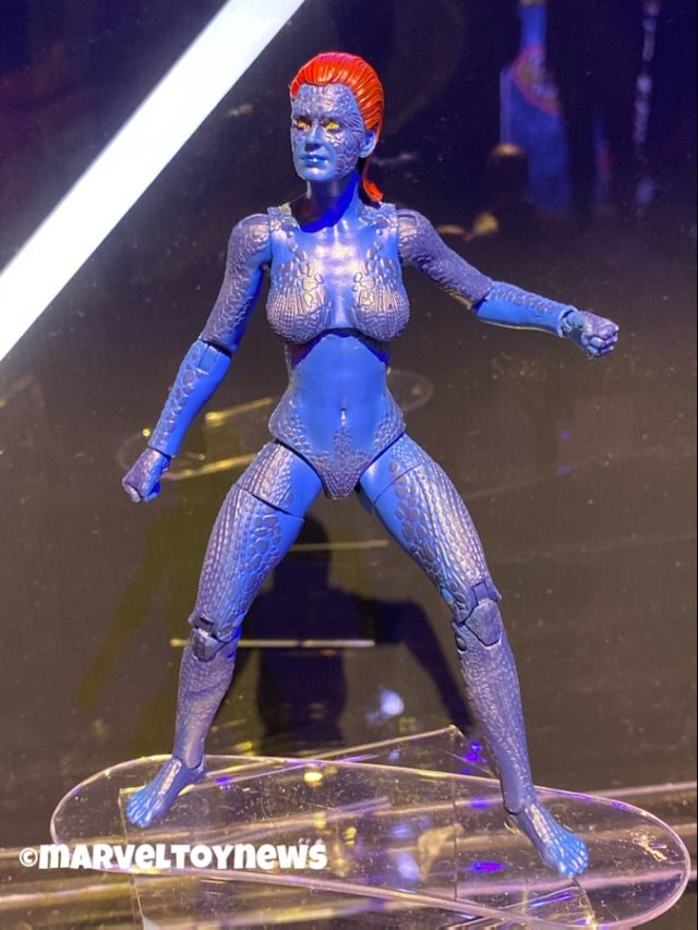 Hasbro Toy Fair 2020 Mystique Marvel Legends Movie Figure