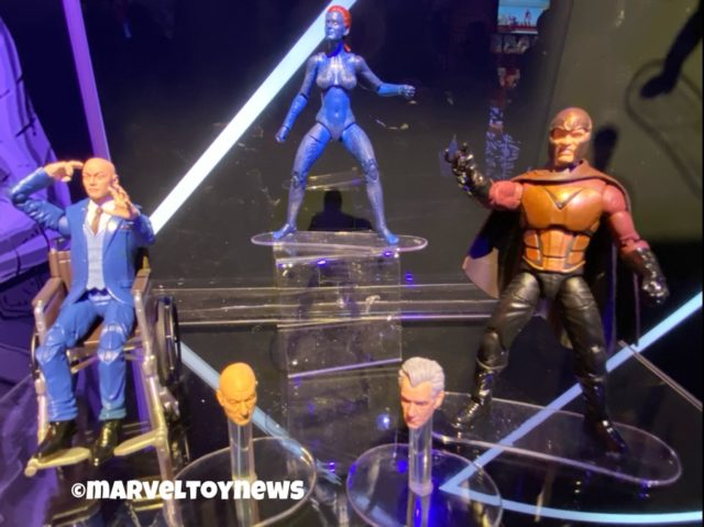 Toy Fair 2020 Marvel Legends X-Men Movie Mystique Magneto Professor X Figures