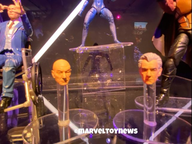 Toy Fair 2020 Patrick Stewart Ian McKellen Marvel Legends Heads