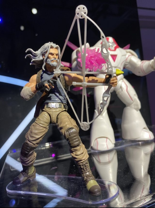 Old Man Hawkeye Marvel Legends Figure Toy Fair 2020
