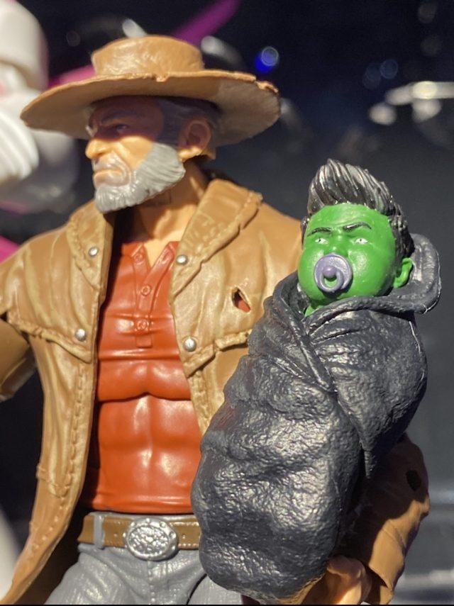 Marvel Legends Baby Hulk Figure Close-Up