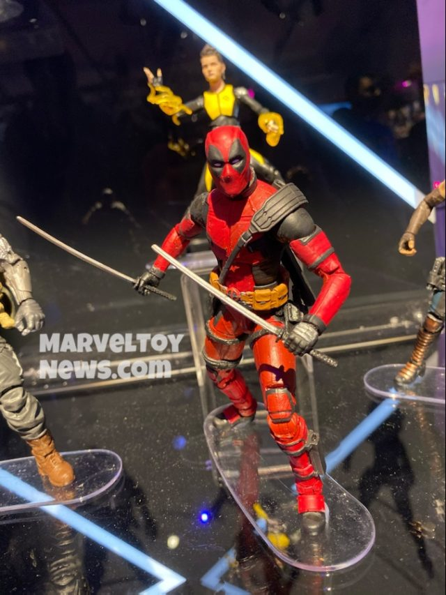 Marvel Legends 2020 Toy Fair Deadpool Movie Figure
