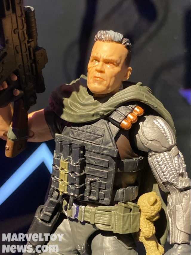Marvel Legends Movie Cable Figure Close-Up