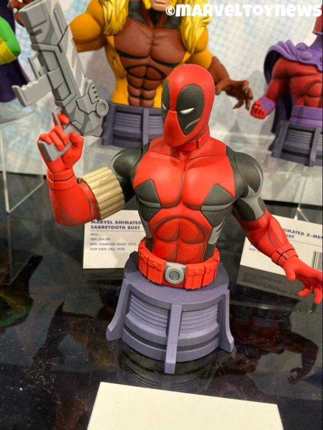 Diamond Select New York Toy Fair 2020 Animated Deadpool Bust