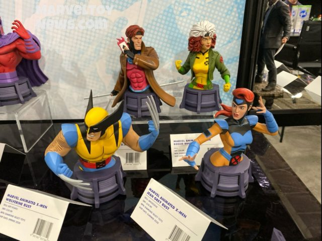 Toy Fair New York Diamond X-Men Animated Busts