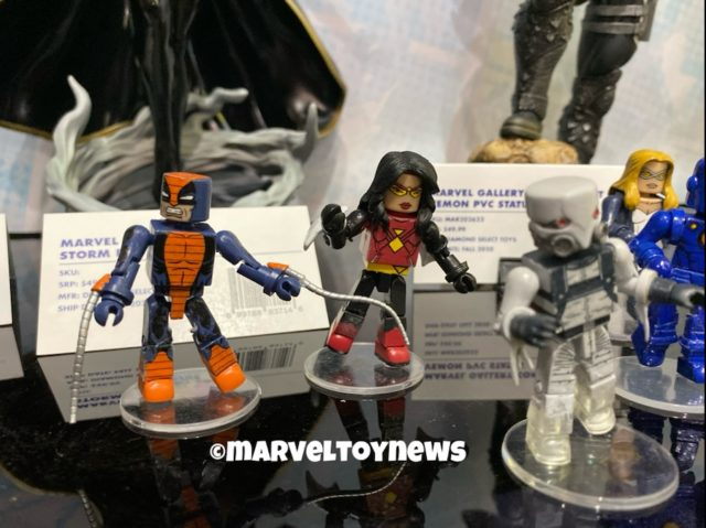 New York Toy Fair 2020 Minimates Constrictor Ghost Spider-Woman Figures