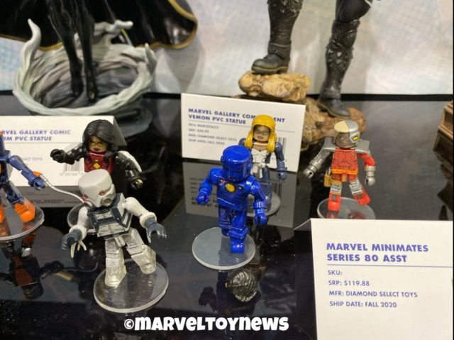 2020 Toy Fair Marvel Minimates Wave 81 Deathlok Ghost Mockingbird