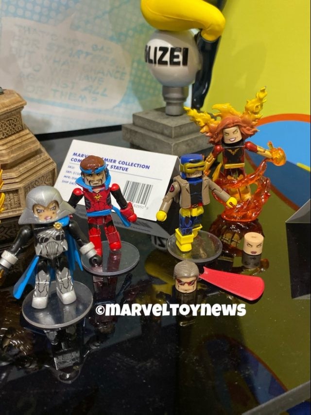 Marvel Minimates Toy Fair Lilandra Corsair Cyclops Dark Phoenix