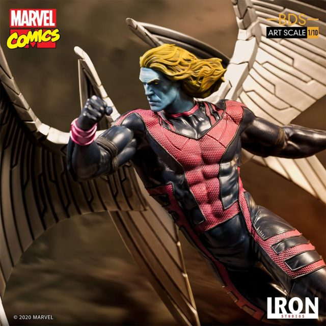 Archangel Iron Studios Statue X-Men BDS