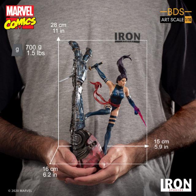 Iron Studios Psylocke Statue X-Men