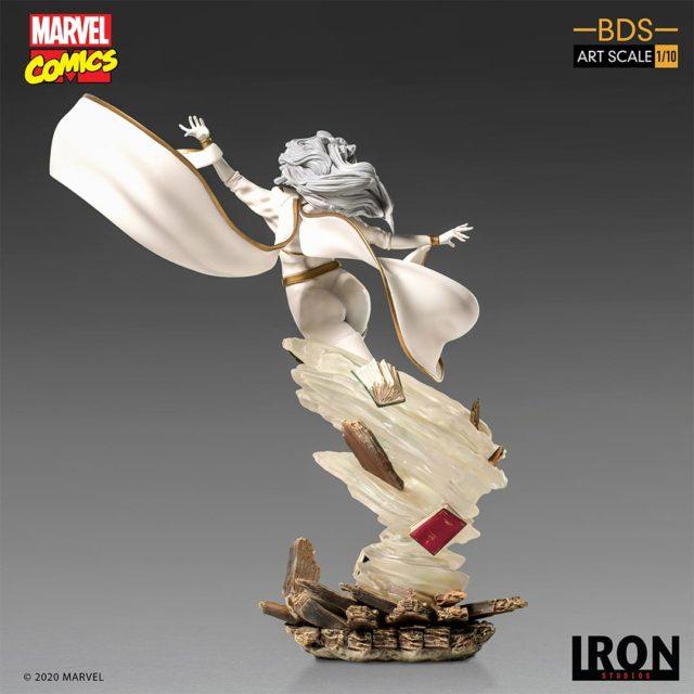 Storm Iron Studios X-Men BDS Statue Back
