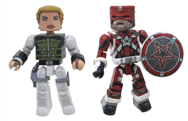 Walgreens Exclusive Black Widow Minimiates Yelena Bolova and Red Guardian