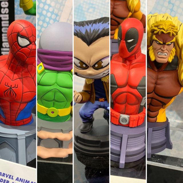 Toy Fair 2020 DST Marvel Animated Busts and Statues