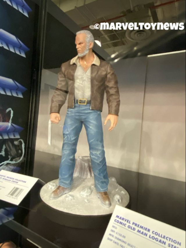 Diamond Select Toys Old Man Logan Premier Collection Resin Statue Toy Fair