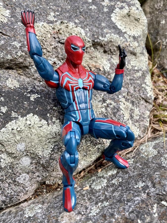 Marvel Legends Spider-Man Velocity Suit GamerVerse New Figure NO BAF
