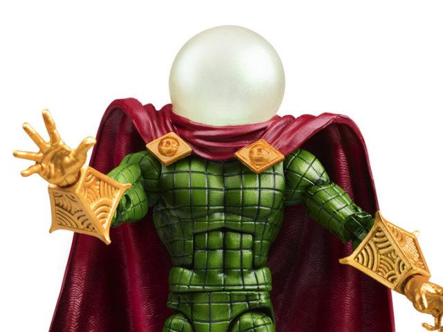 Close-Up of 2020 Marvel Legends Mysterio Exclusive Retro Figure