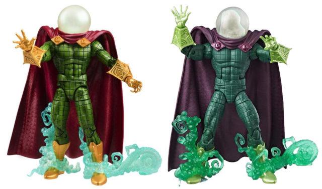 Marvel Legends 2018 and 2020 Mysterio Figures Comparison