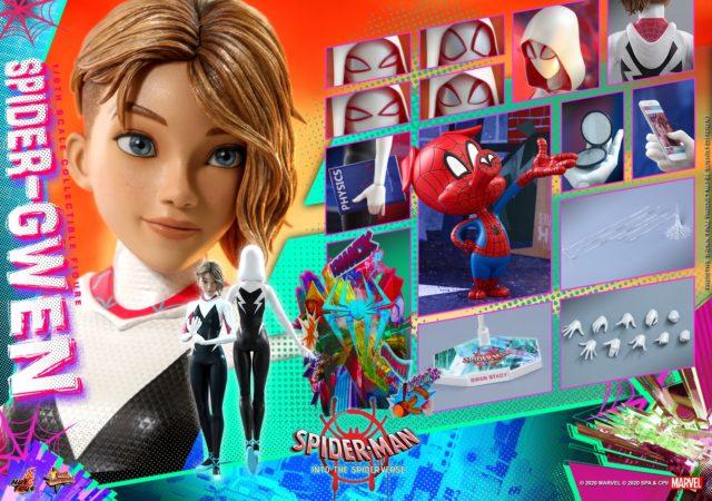 Hot Toys Spider-Gwen Spider-Ham Figures and Accessories