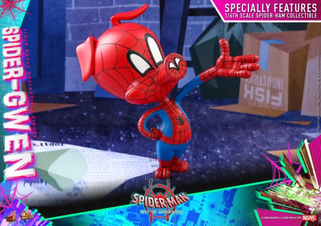 Hot Toys Spider-Ham Figure from Into the Spider-Verse
