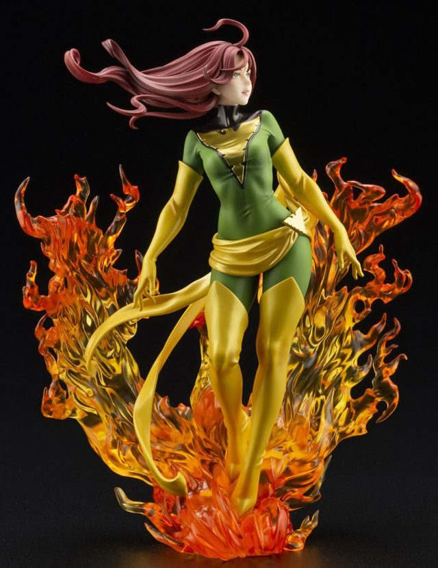 Kotobukiya New York Comic Con 2020 Exclusive Bishoujo Phoenix Rebirth Statue Green
