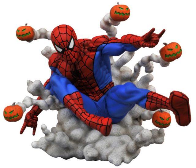 Marvel Gallery Pumpkin Bomb Spider-Man Statue