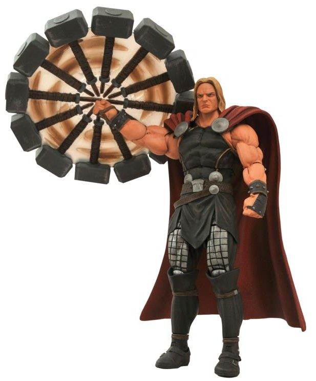 Marvel Select Modern Thor Figure with Spinning Hammer Reissue
