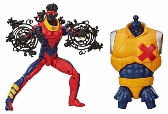 X-Force Marvel Legends Sunspot Figure