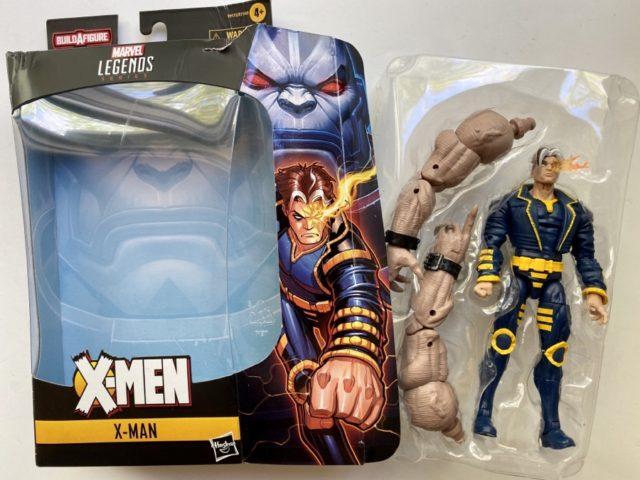 Marvel Legends X-Men 2020 X-Man Unboxing with Sugar Man BAF Arms