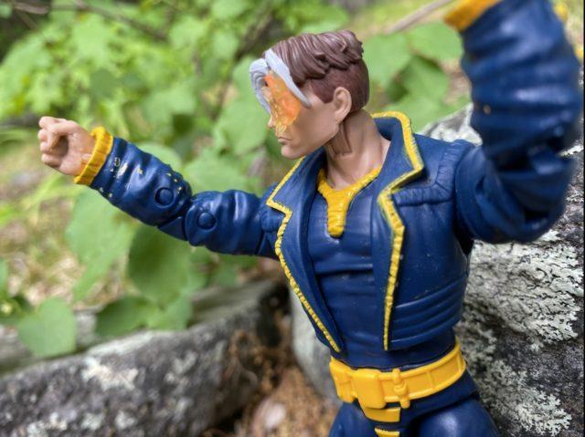 Paint Smudges on X-Men Legends Nate Grey AOA Figure