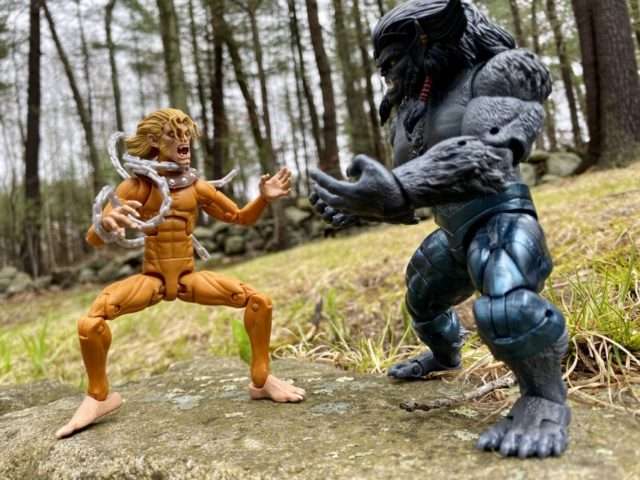 X-Men Marvel Legends 2020 Dark Beast vs Wild Child Action Figures