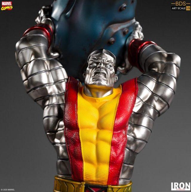 Colossus Iron Studios X-Men BDS Statue Close-Up