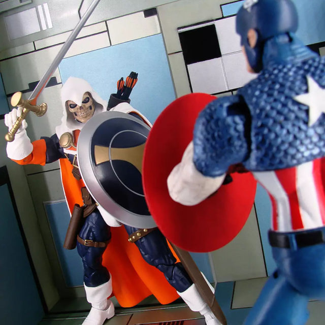 DST Taskmaster Marvel Select Figure vs Captain America