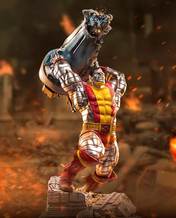 Iron Studios Colossus X-Men Statue Battle Diorama Series