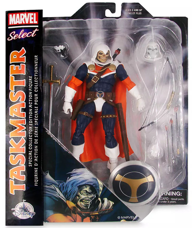 Marvel Select Taskmaster Figure Packaged