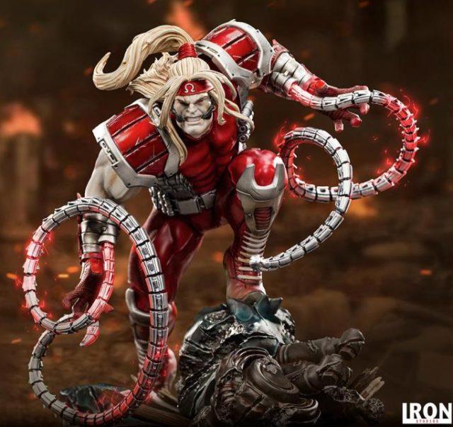 Omega Red Iron Studios Statue X-Men 2021