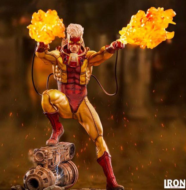Pyro X-Men Statue Battle Diorama Series Iron Studios