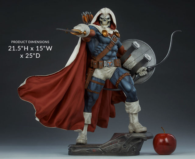 Sideshow Collectibles Taskmaster Premium Format Figure Product Dimensions
