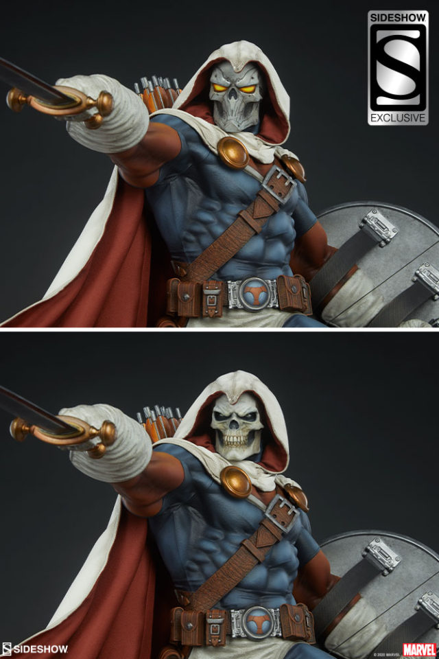Sideshow EX Taskmaster Heads Skull Face Tactical Mask