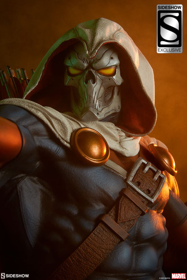 Sideshow Exclusive Taskmaster Tactical Mask Head Premium Format Figure Up Close