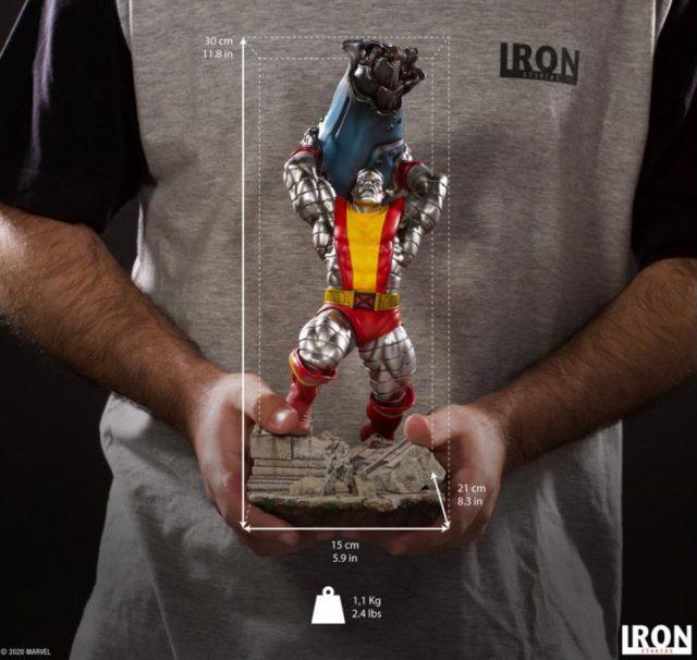 Size Scale Photo Iron Studios Colossus Statue