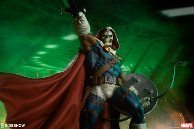 Taskmaster Sideshow Collectibles Statue Pre-Order