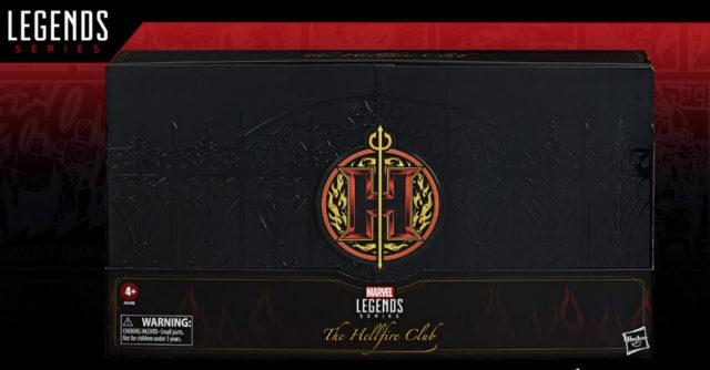 Box Marvel Legends Hellfire Club Exclusive Set Packaging