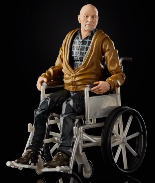Comic Con Exclusive Marvel Legends Charles Xavier Old Man Logan Figure