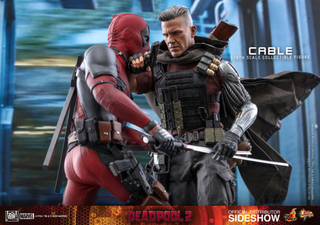 Hot Toys Deadpool 2 vs Cable Sixth Scale Figures