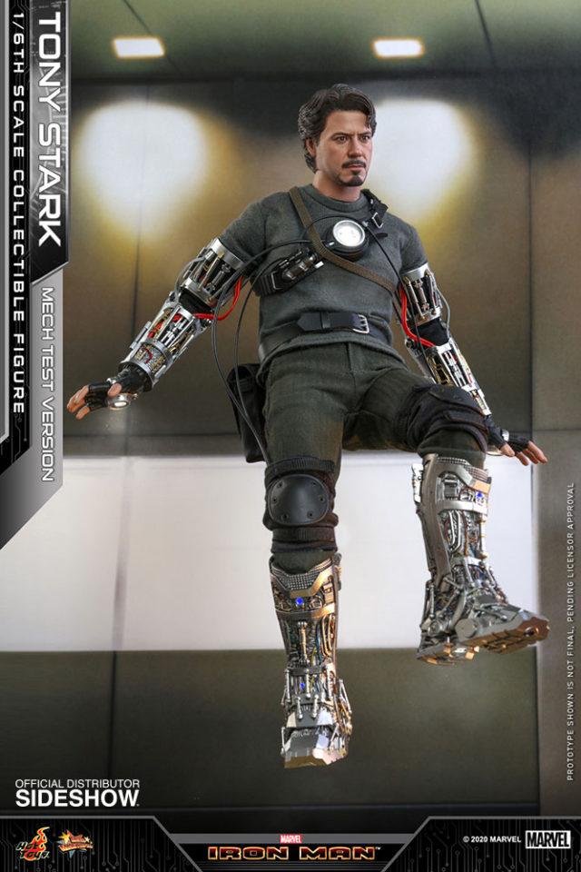Hot Toys Tony Stark Mech Test Version 2020 Figure Flying